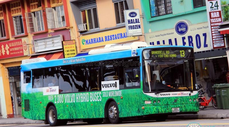 Volvo B5RLE Hybrid (SBS8002T) - Service 13