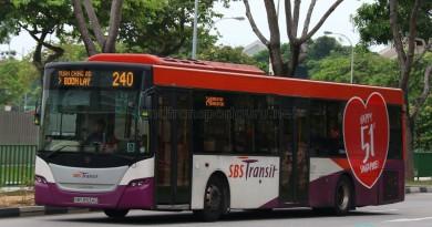 SBST Scania K230UB (SBS8934D) - Service 240