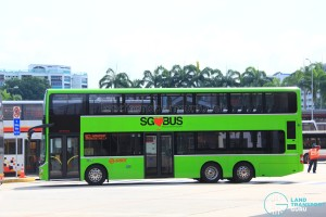 The new SMRT MAN A95 Bus. 10 of the 60 SG-Plated buses are equipped with USB Charging Ports.