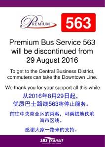 Premium 563 withdrawal poster