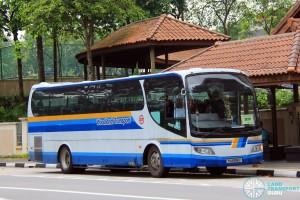 Woodlands Transport Isuzu LT133P operating on 307P