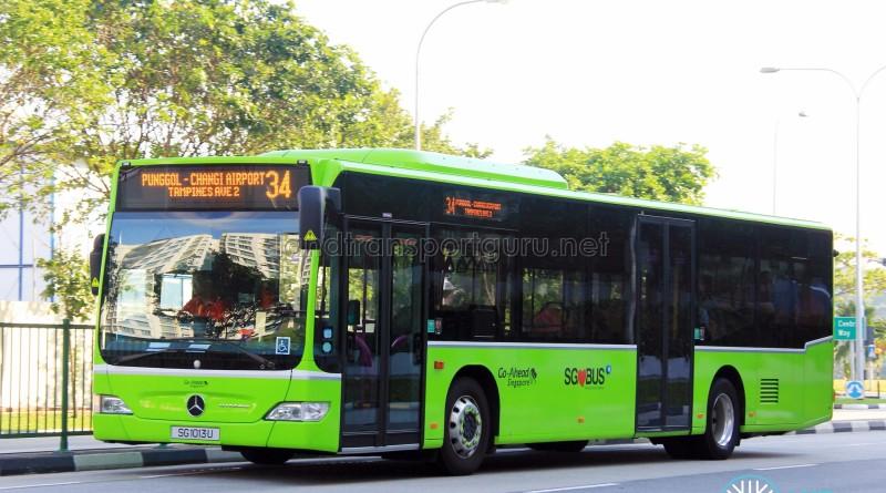 Go-Ahead Singapore Mercedes-Benz Citaro (SG1013U) - Service 34