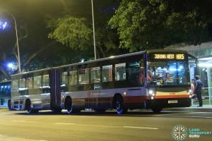 SMRT Mercedes-Benz O405G (TIB1033G) - NightRider NR5