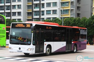 Go-Ahead Mercedes-Benz Citaro (SG1054B) - Service 386
