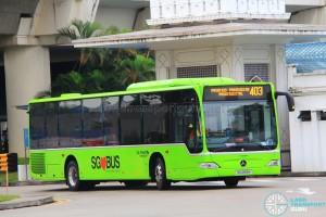 Go-Ahead Mercedes-Benz Citaro (SG1059M) - Service 403