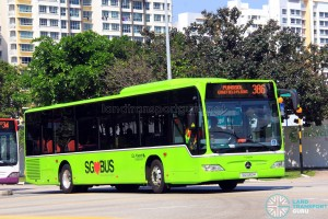 Go-Ahead Mercedes-Benz Citaro (SG1060H) - Service 386