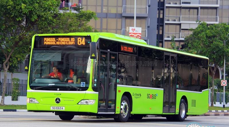Go-Ahead Mercedes-Benz Citaro (SG1063A) - Service 84