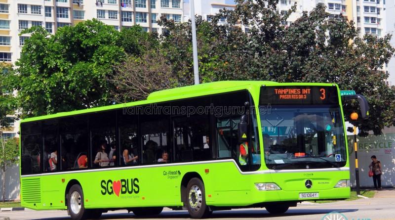 Go-Ahead Mercedes-Benz Citaro (SG1064Y) - Service 3