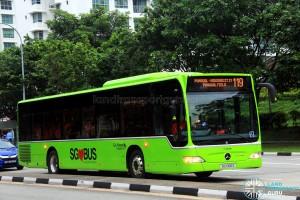 Go-Ahead Mercedes-Benz Citaro (SG1066S) - Service 119