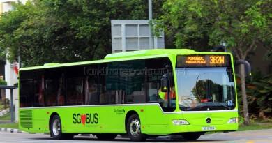Go-Ahead Mercedes-Benz Citaro (SG1070D) - Service 382W