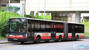 SMRT Mercedes-Benz O405G Hispano Habit (TIB1242U) - Service 169