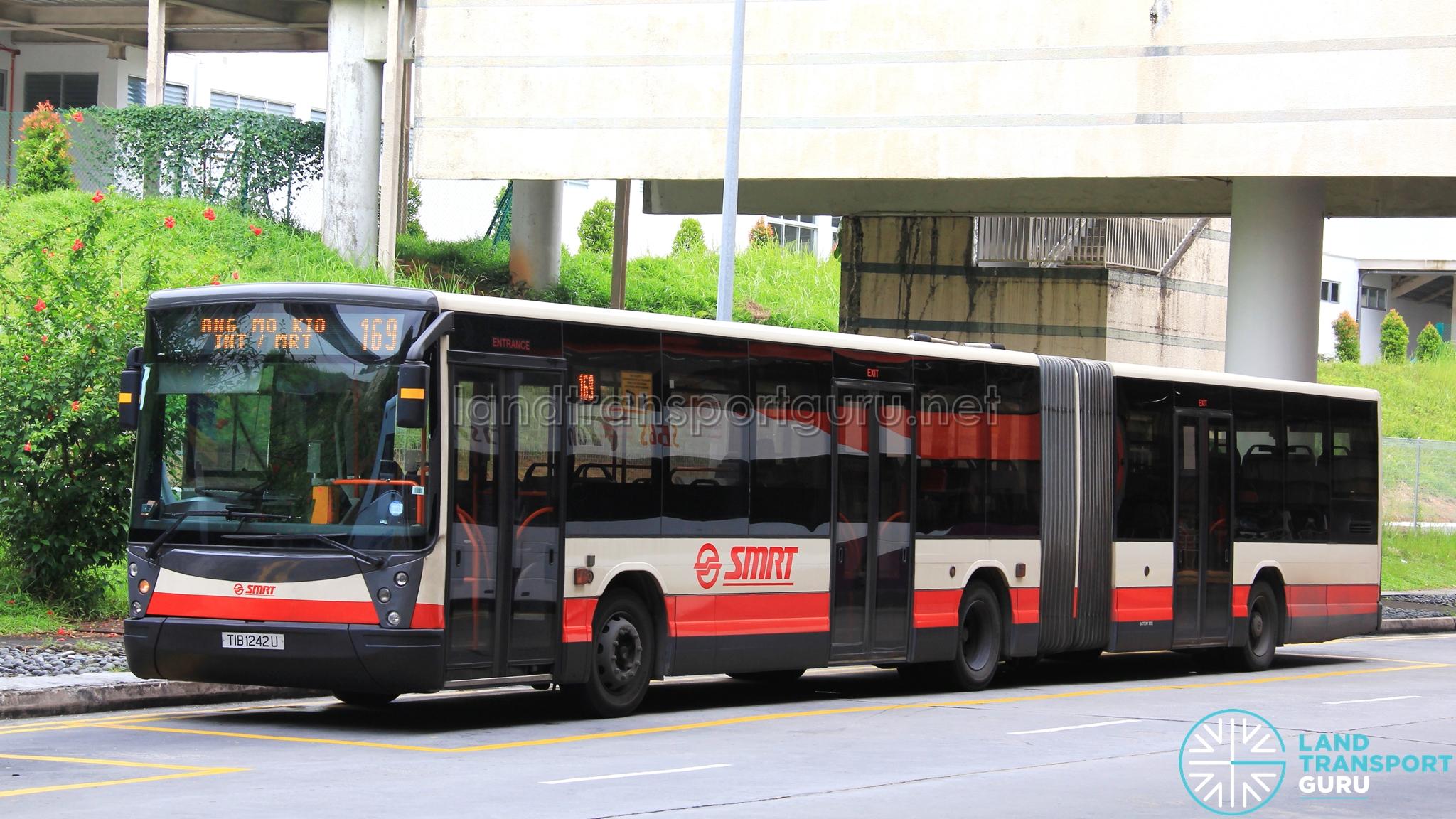 Smrt bus service 169 land transport guru for Mercedes benz woodlands service