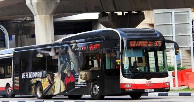 SMRT MAN NL323F (SMB1395P) - Service 975