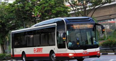SMRT MAN NL323F A22 (SMB1407P) - Service 912M