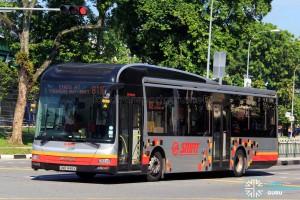 SMRT MAN NL323F (SMB1448X) - Service 811E