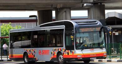SMRT MAN NL323F (SMB1463B) - Service 912
