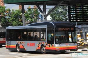 SMRT MAN NL323F (SMB1483T) - Service 811
