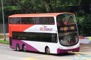 SBS Transit Volvo B9TL Wright (SBS14L) - Service 166