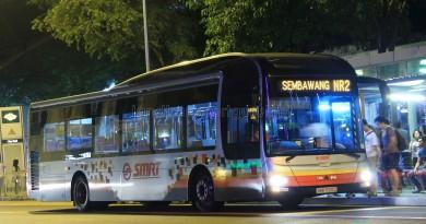 SMRT MAN A22 (SMB1500C) - NightRider NR2
