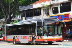 SMRT MAN NL323F (SMB1544B) - Service 980