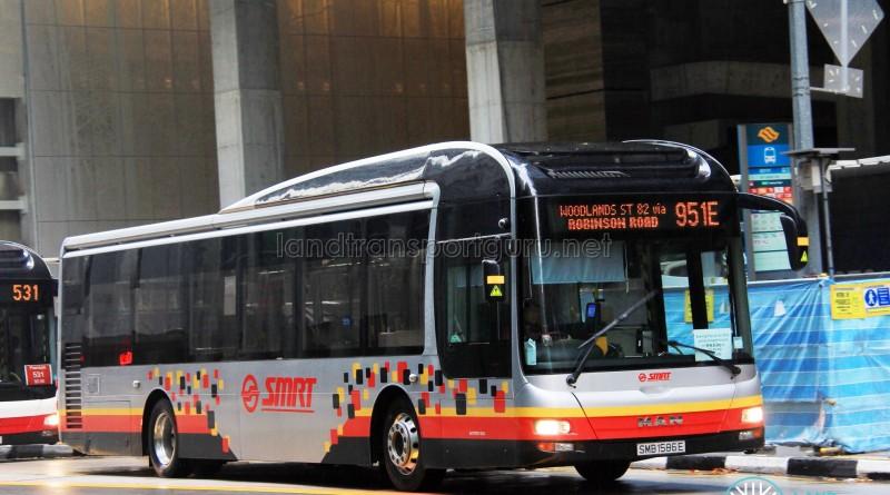 SMRT MAN NL323F (SMB1586E) - Service 951E