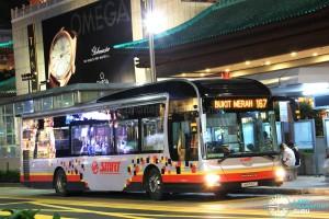 SMRT MAN NL323F (SMB1610T) - Service 167