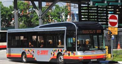 SMRT MAN NL323F (SMB1633C) - Service 800