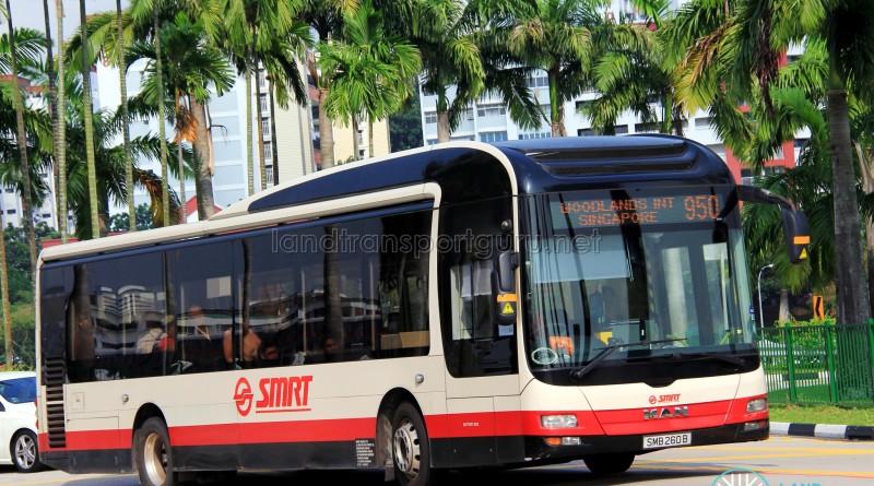 SMRT MAN NL323F (SMB260B) - Service 950