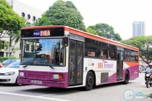 SBS Transit Volvo B10M MkIV DM3500 (SBS2809Y) - Express 518A