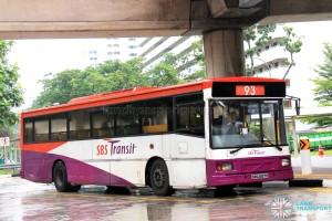 SBS Transit Volvo B10M MkIV DM3500 (SBS2837R) - Service 93