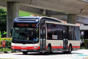 Tower Transit MAN NL323F A22 (SMB3057C) - Service 189