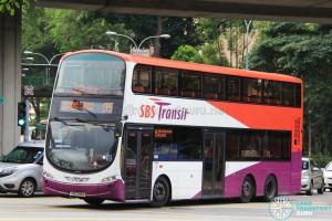 SBS Transit Volvo B9TL Wright (SBS3191M) - Service 95