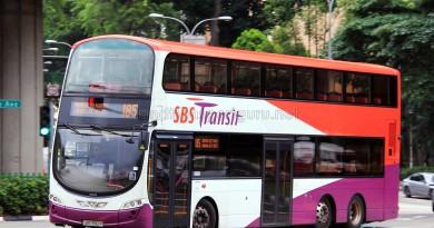 SBS Transit Volvo B9TL Wright (SBS3182P) - Service 185