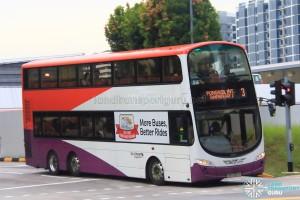 Go-Ahead Volvo B9TL Wright (SBS3313D) - Service 3
