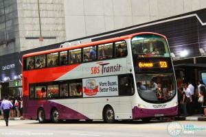 SBS Transit Volvo B9TL Wright (SBS3323A) - Express 513