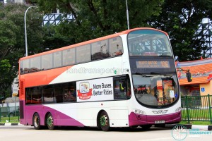 Tower Transit Volvo B9TL Wright (SBS3357C) - Service 106, diverted to Eu Tong Sen St