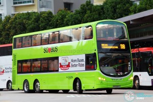 Go-Ahead Volvo B9TL Wright (SBS3466X) - Service 118