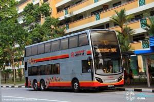 SMRT Alexander Dennis Enviro500 (SMB3524X) - Express 951E