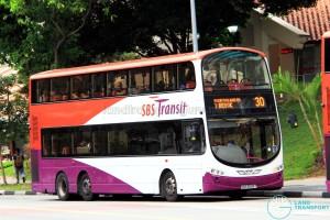 SBS Transit Volvo B9TL Wright (SBS3698T) - Service 30
