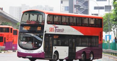 SBS Transit Volvo B9TL Wright (SBS3731E) - Service 60
