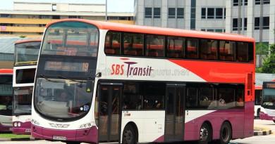 SBS Transit Volvo B9TL Wright (SBS3750A) - Service 19
