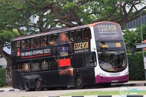 SBS Transit Volvo B9TL Wright (SBS3848C) - Service 196