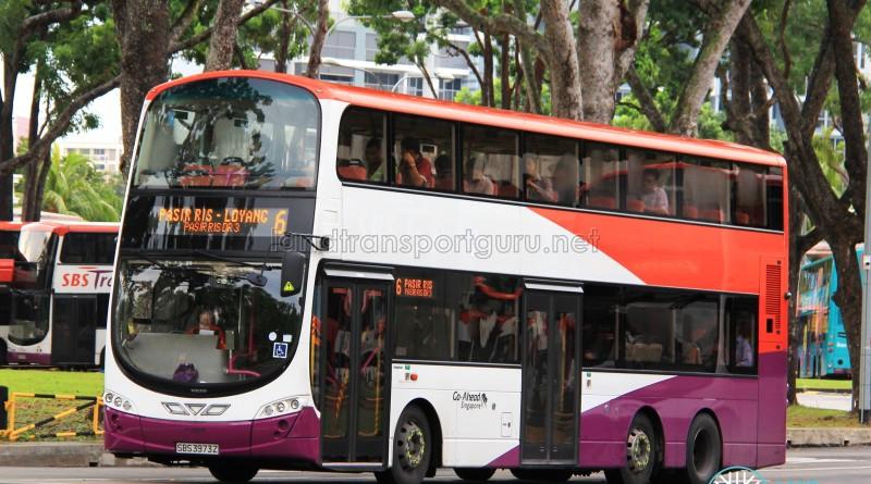 Go-Ahead Volvo B9TL Wright (SBS3973Z) - Service 6