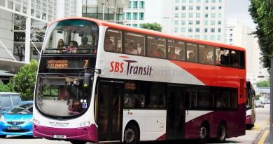 SBS Transit Volvo B9TL Wright (SBS5M) - Service 7