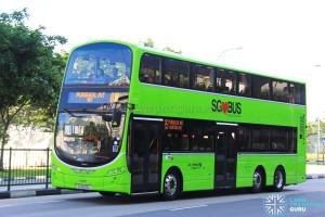Go-Ahead Volvo B9TL Wright (SG5059L) - Service 85