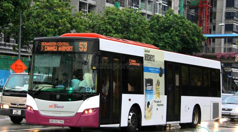 SBS Transit Scania K230UB (SBS5079S) - Service 53