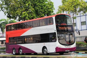SMRT Volvo B9TL (SG5087E) - Service 964, in SBS Transit base livery