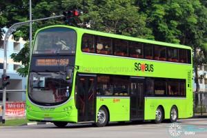 SMRT Volvo B9TL (SG5126B) - Service 964