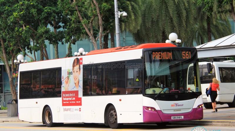 SBS Transit Scania K230UB (SBS5161L) - Premium 561