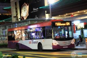 SBS Transit Scania K230UB Euro V (SBS5185T) - Service 124
